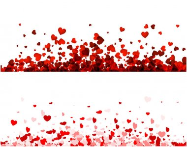 Valentines day banners set, vector illustration stock vector