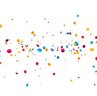 circle shape confetti template