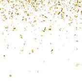 Slavnostní pozadí s zlaté konfety.