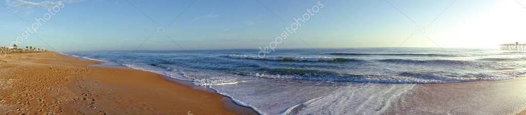 Beach Panoramic View