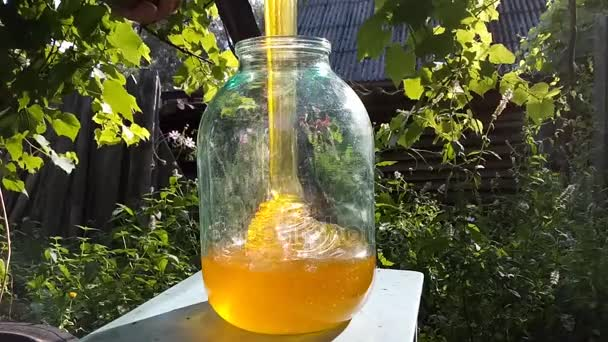 imbottigliamento di miele