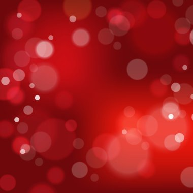 Festive background with bokeh defocused lights