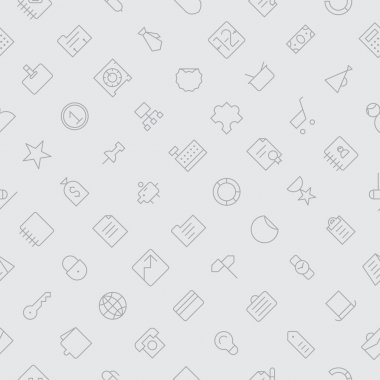 Seamless background pattern for business