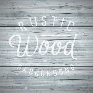 Rustic wood planks vintage background