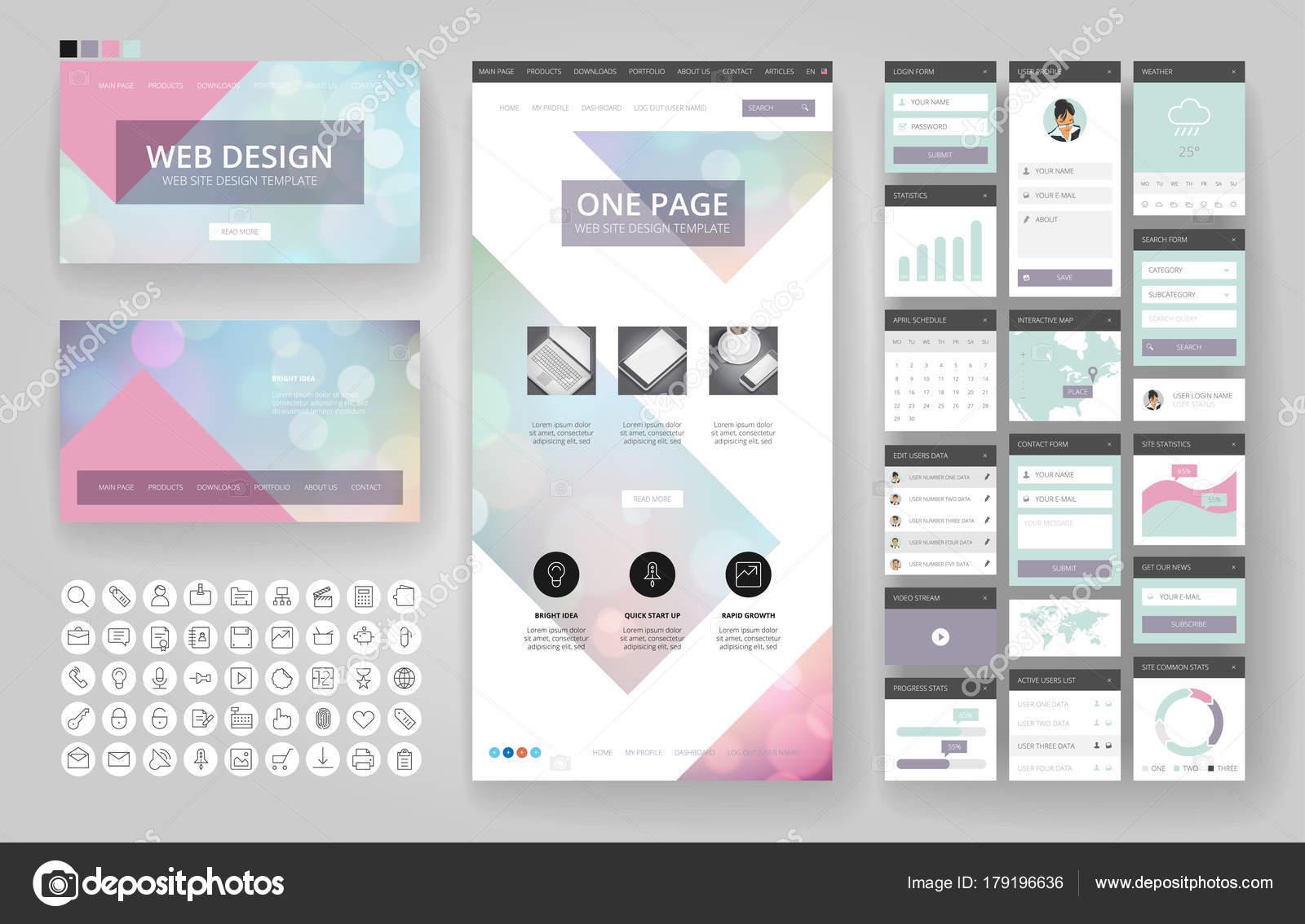 Groß Designvorlagen Für Benutzeroberflächen Fotos - Beispiel ...