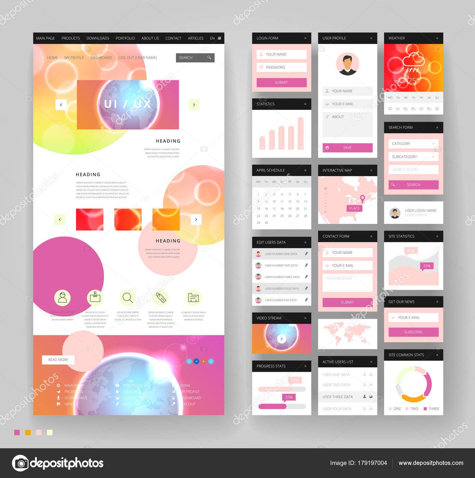 Erfreut Designvorlagen Für Benutzeroberflächen Fotos - Entry Level ...