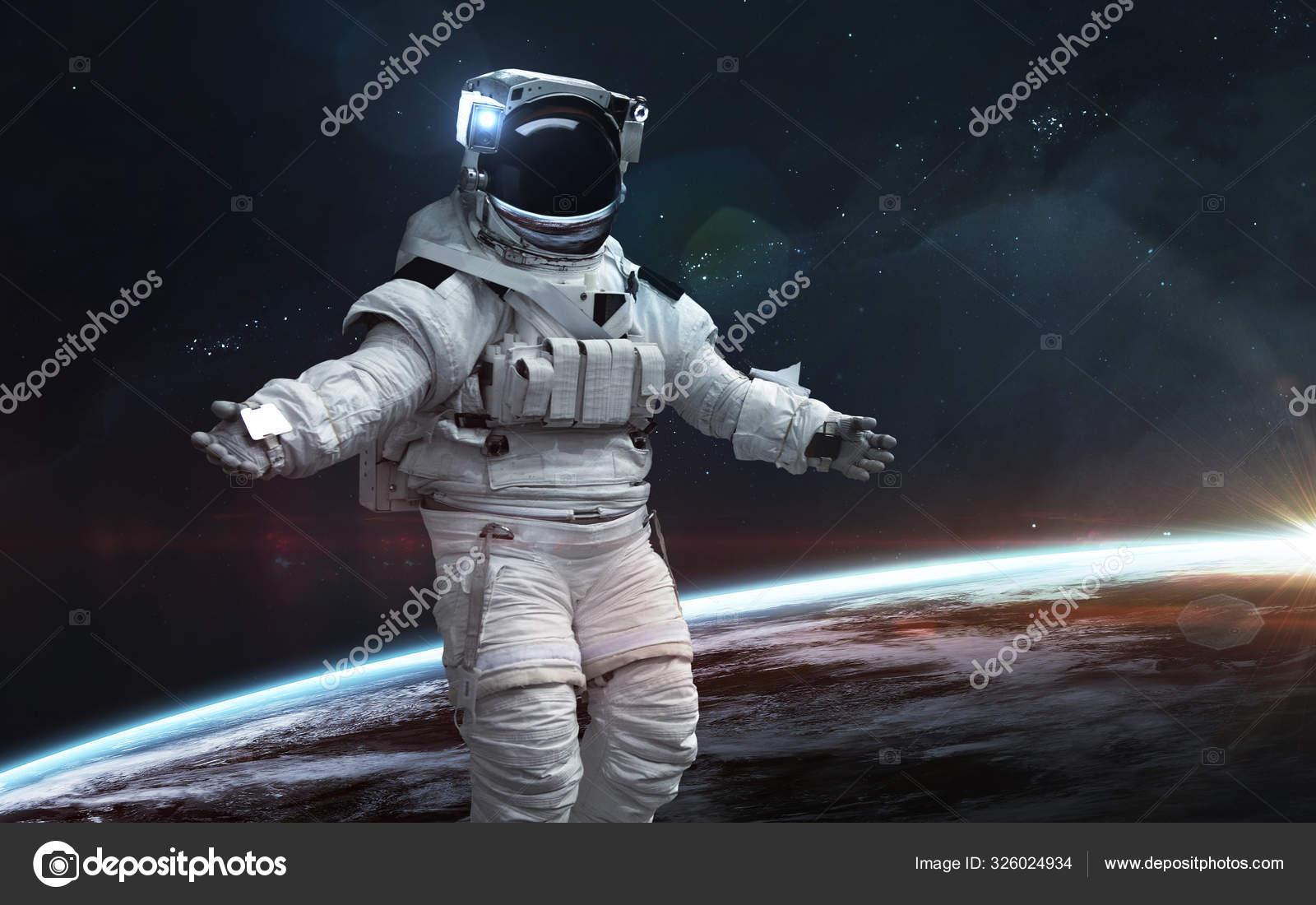 Обои астронавт, земля. Фантастика foto 13