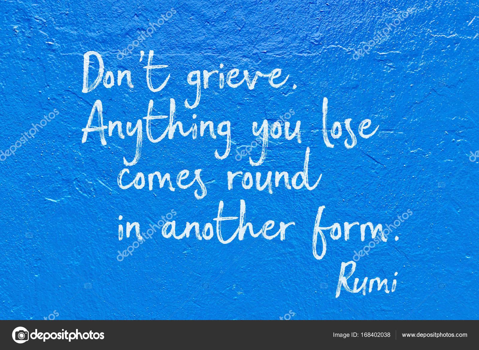 Citaten Rumi Ost : Niet treuren blauwe rumi — stockfoto yurizap