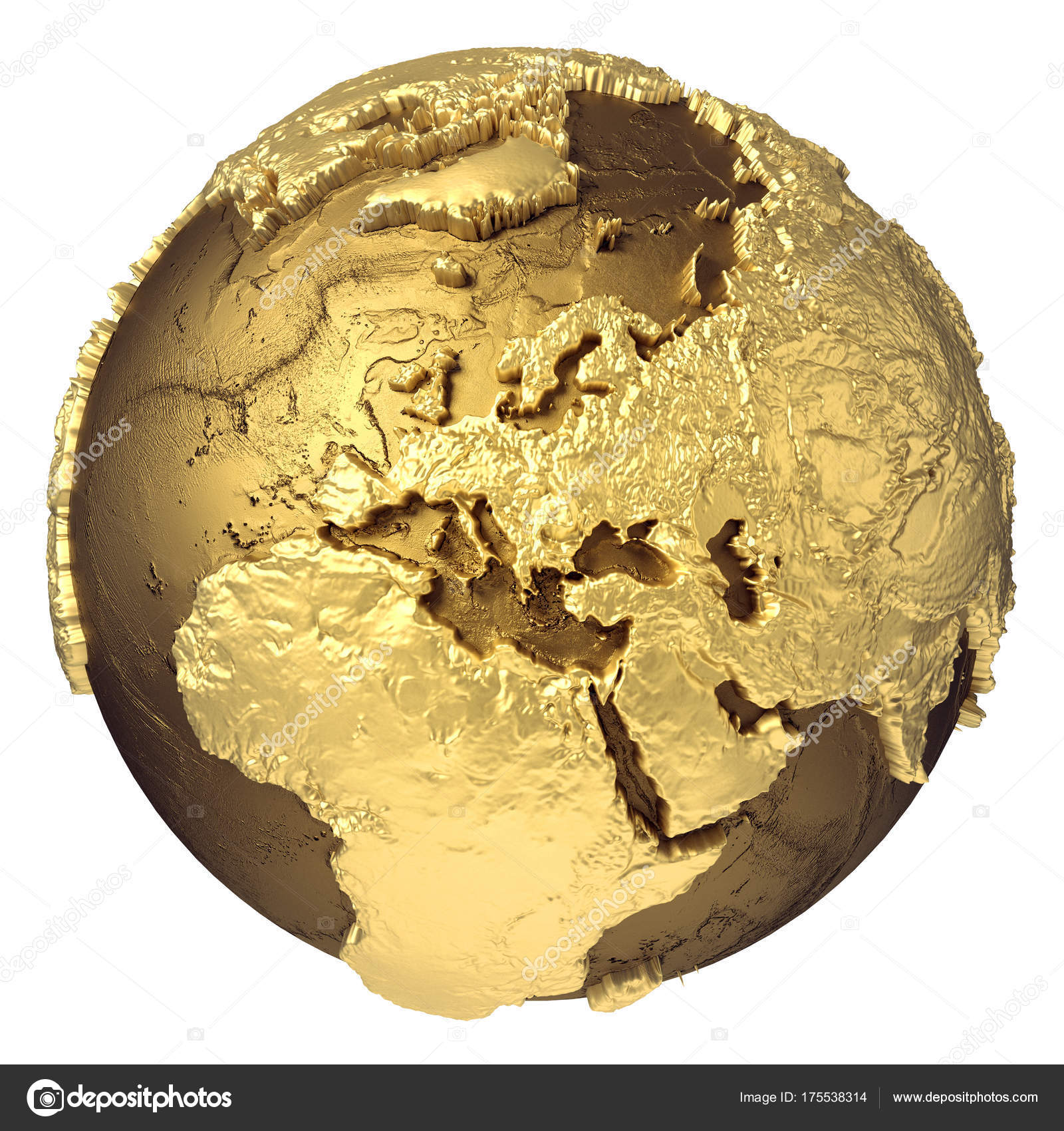 Gold globe europ stock photo threeart 175538314 golden globe model without water europe 3d rendering isolated on white background elements of this image furnished by nas photo by threeart publicscrutiny Choice Image