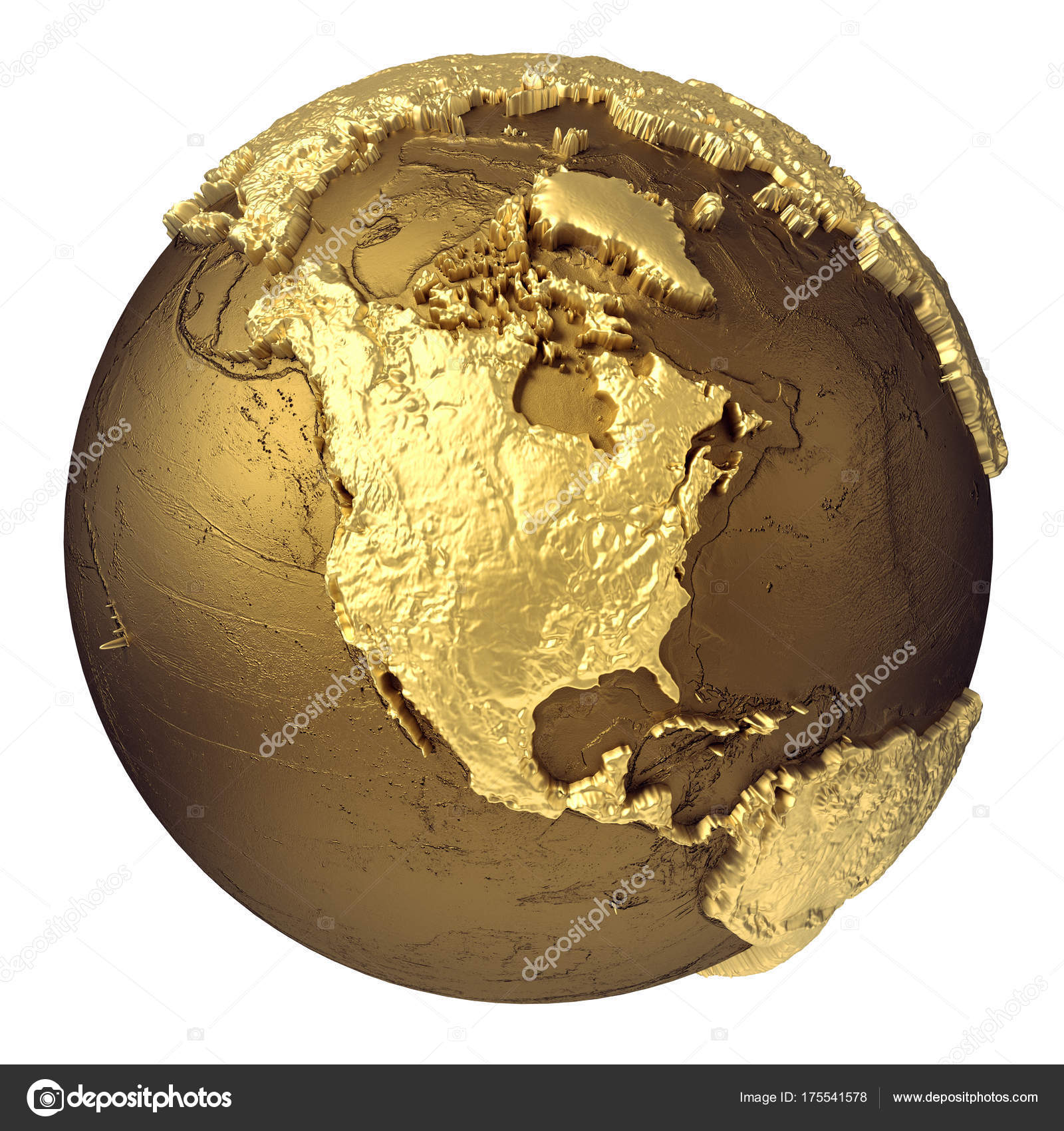 Gold globe north americ stock photo threeart 175541578 golden globe model without water north america 3d rendering isolated on white background elements of this image furnished by nas photo by threeart publicscrutiny Choice Image