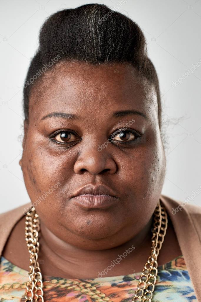 nahé černé africké ženy