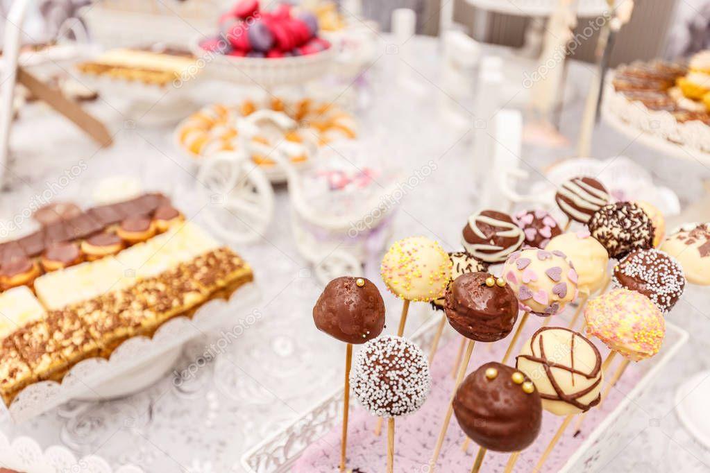 Wedding Chocolate Pops Stock Photo Grafvision 128797376