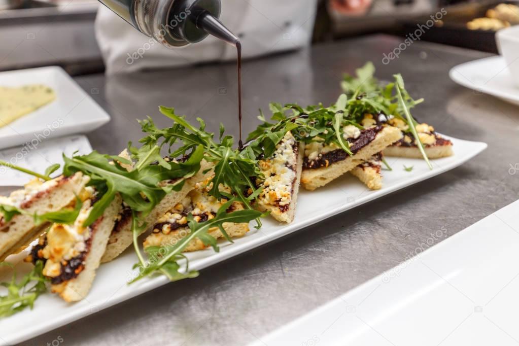 Fotografie: piatti di antipasti | Lo chef decorazione piatto ...