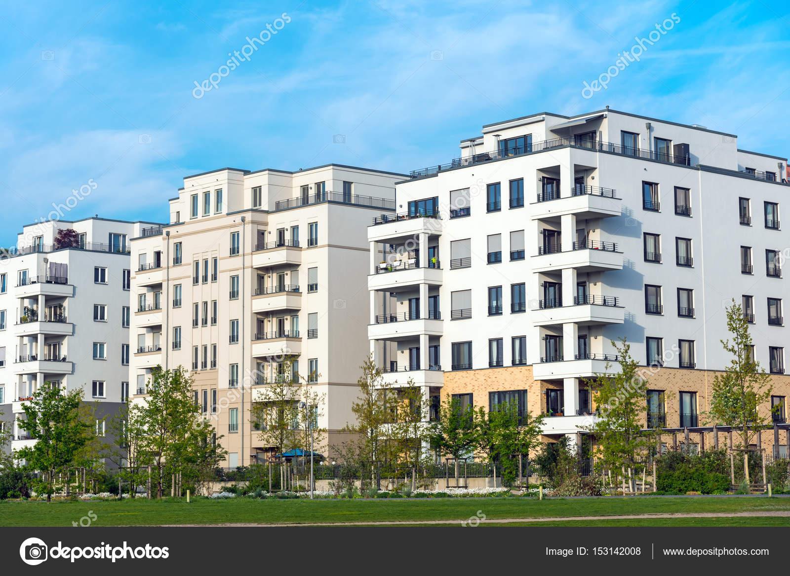 Neubaugebiet Mit Neuen Häusern U2014 Stockfoto