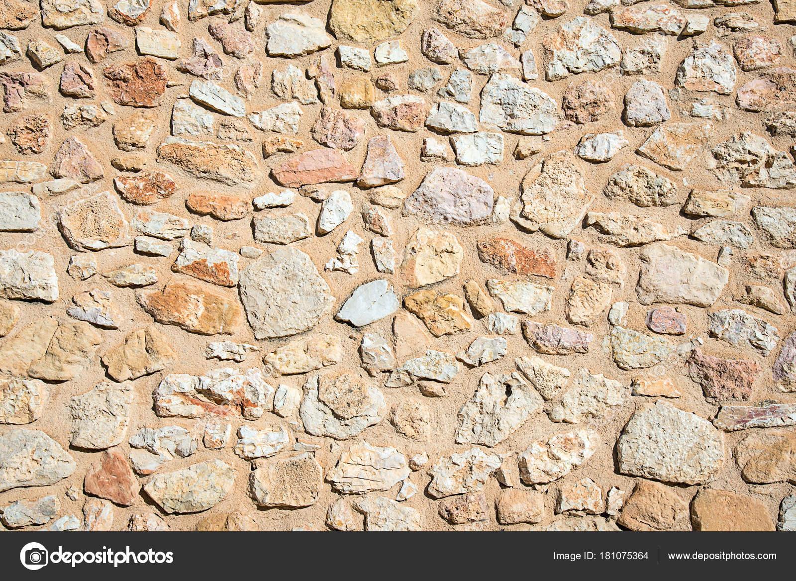 Hintergrund Aus Einer Rauen Wand Aus Naturstein U2014 Stockfoto