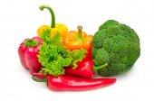 kolekce čerstvá zelenina
