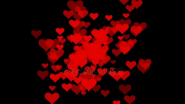 Red Love Hearts With Wind Animated Background In 4k Stock Video C Redthirteen1 152369810