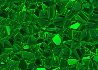 green shining emerald crystal backgrounds