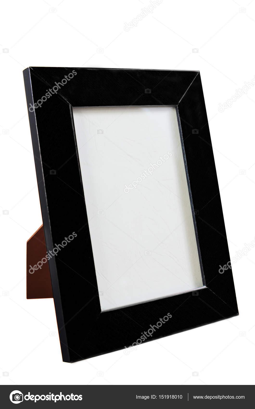 schwarzer Rahmen Desktop für Foto — Stockfoto © Dudaeva #151918010