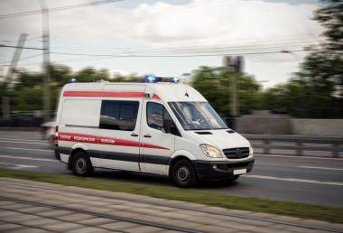 ambulance car on road