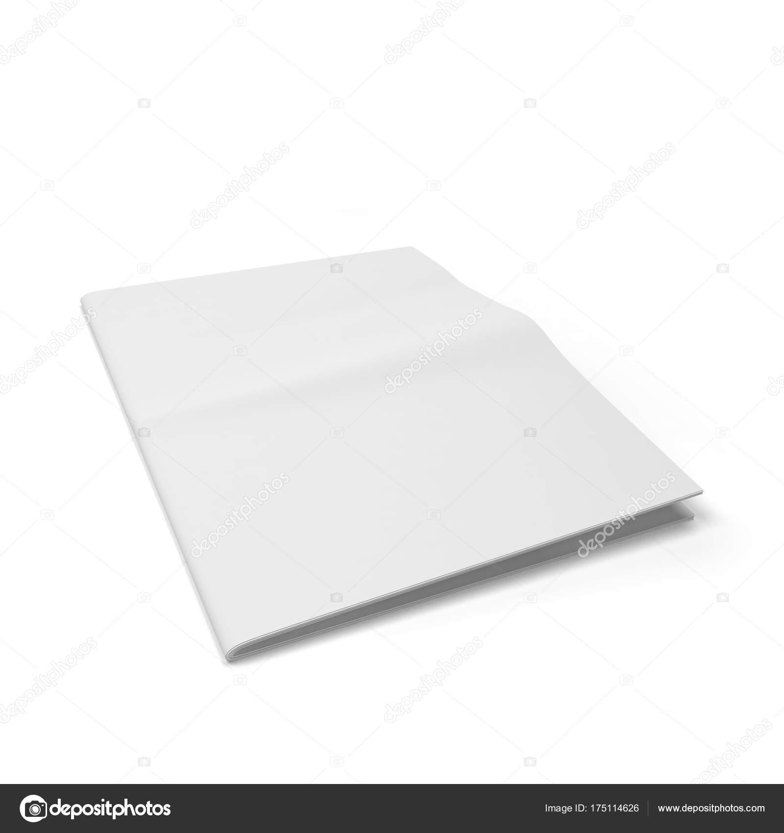 plantilla de periódico en blanco — Foto de stock © montego #175114626