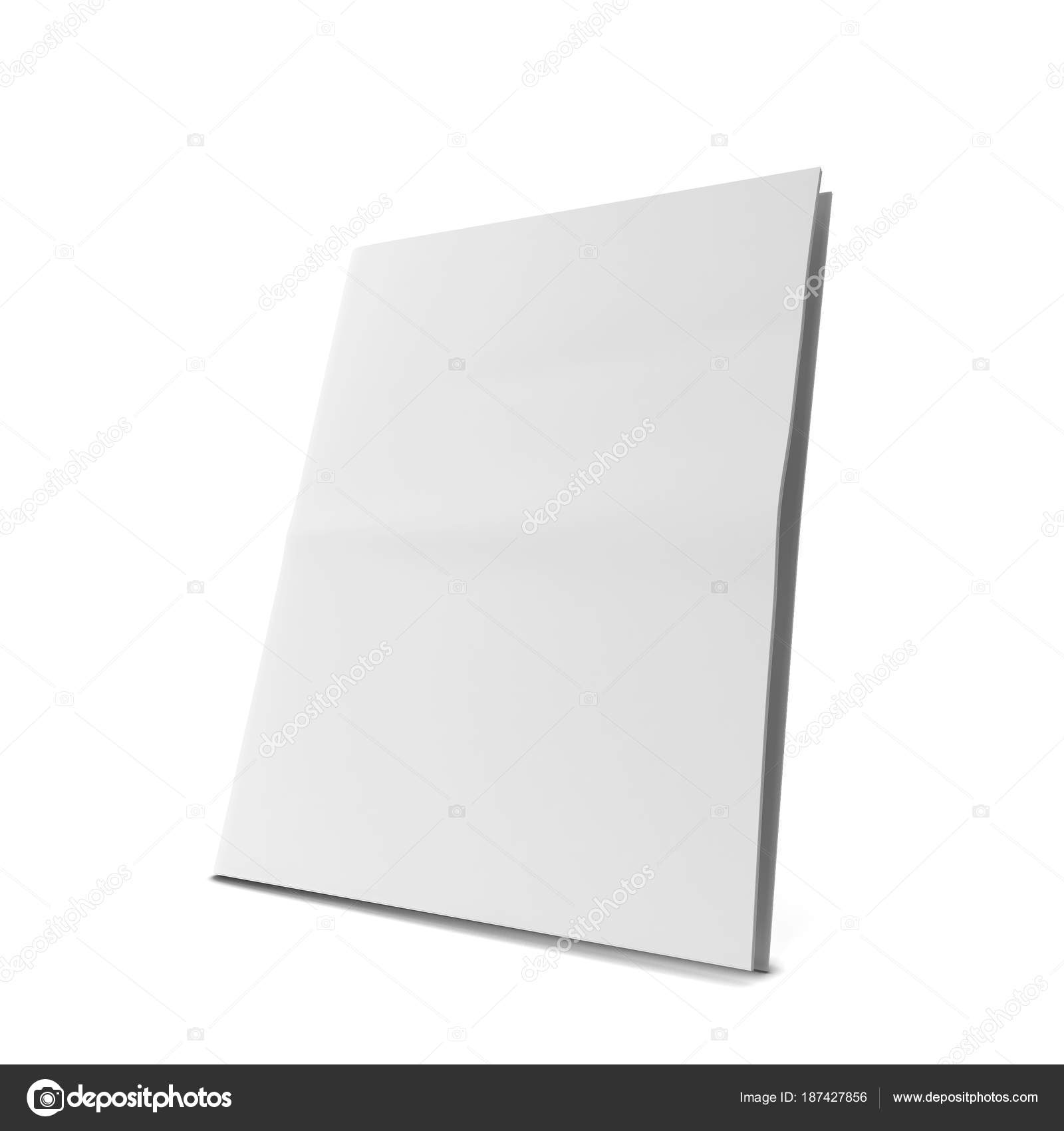 Blank Newspaper Template Stock Photo C Montego 187427856