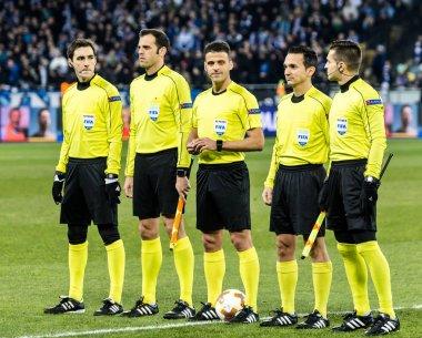 UEFA Europa League football match Dynamo Kyiv - Lazio