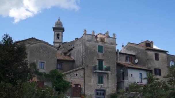 Staré budovy Bracciano Itálie