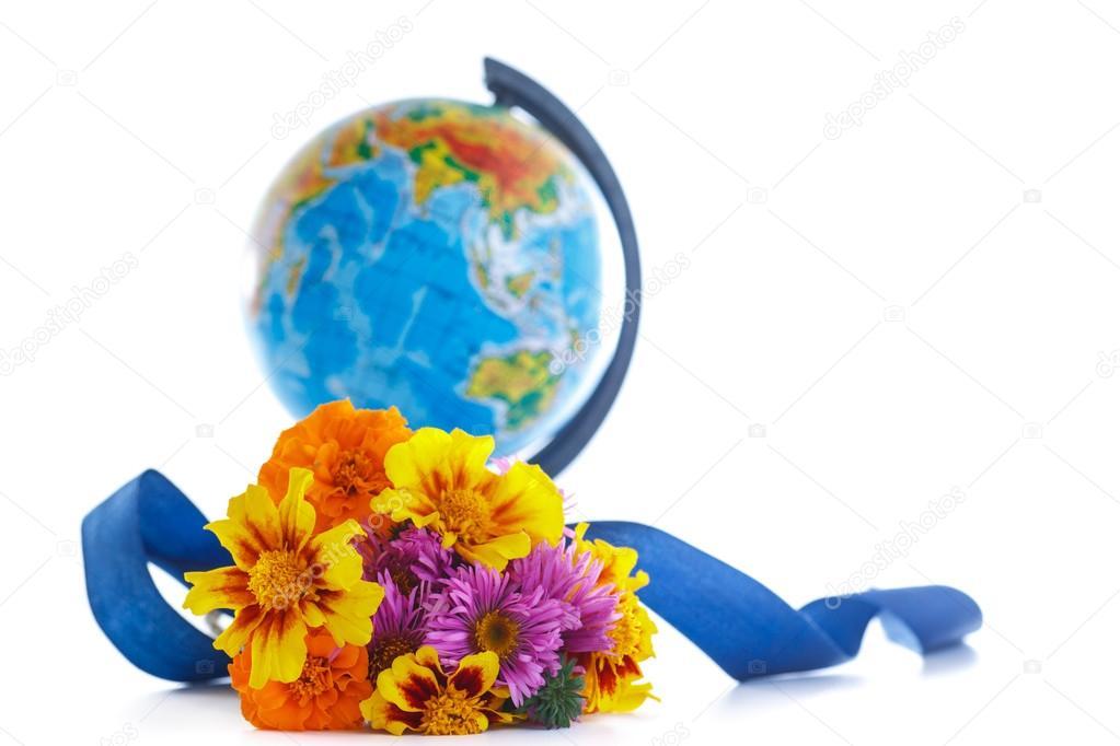 Цветы с глобусом