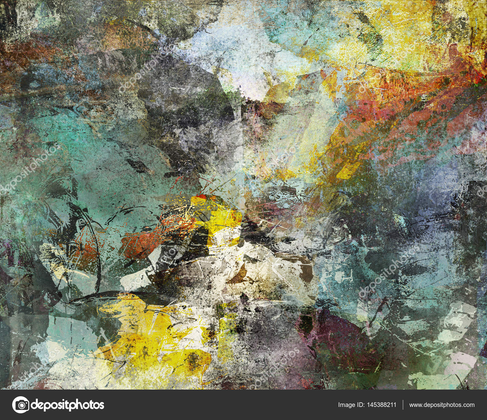 abstract paint textures Stock Photo Mobilee 145388211