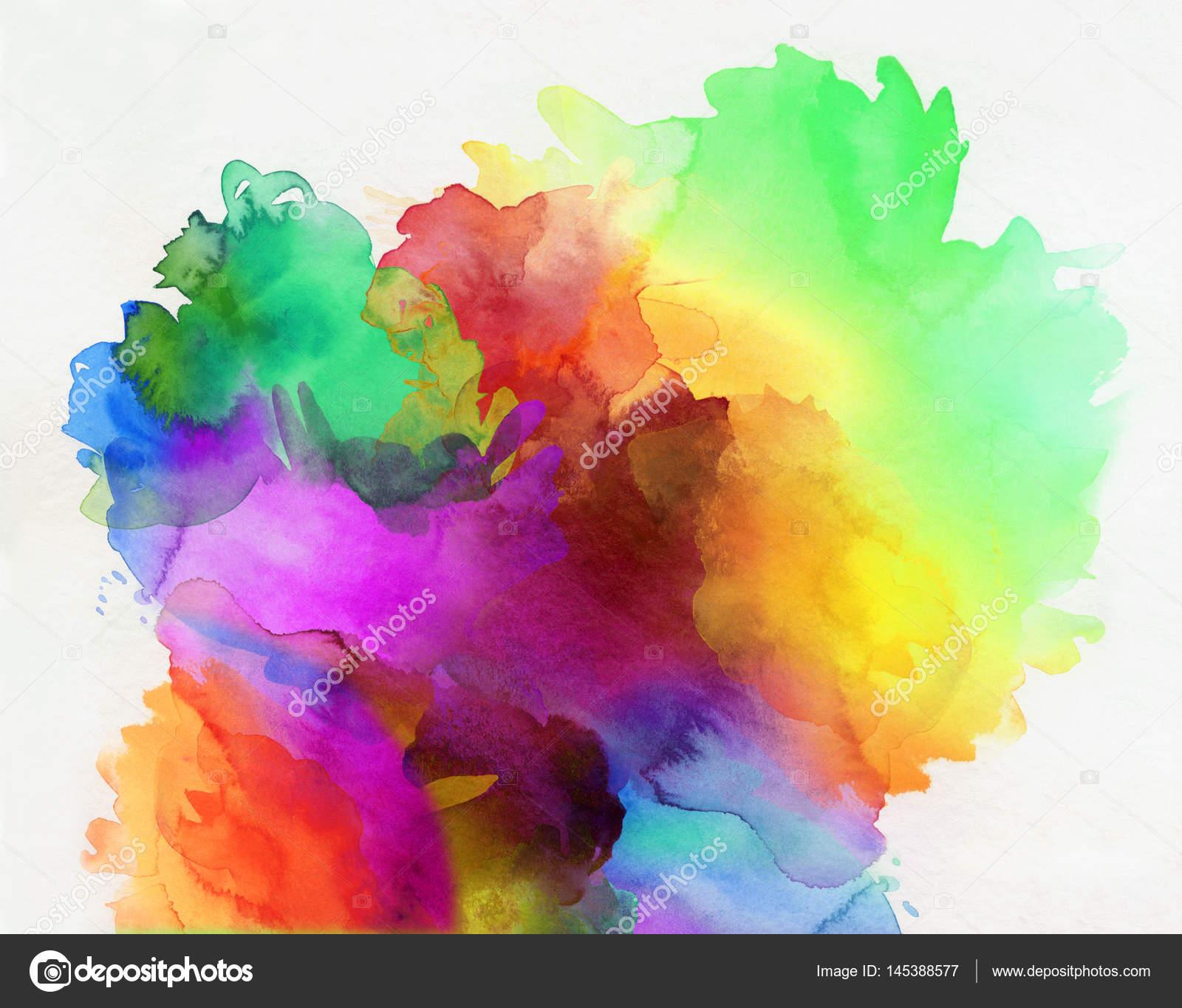 Paint Colors For 2017 Arco Iris De Colores Acuarela Pinturas Y Texturas En