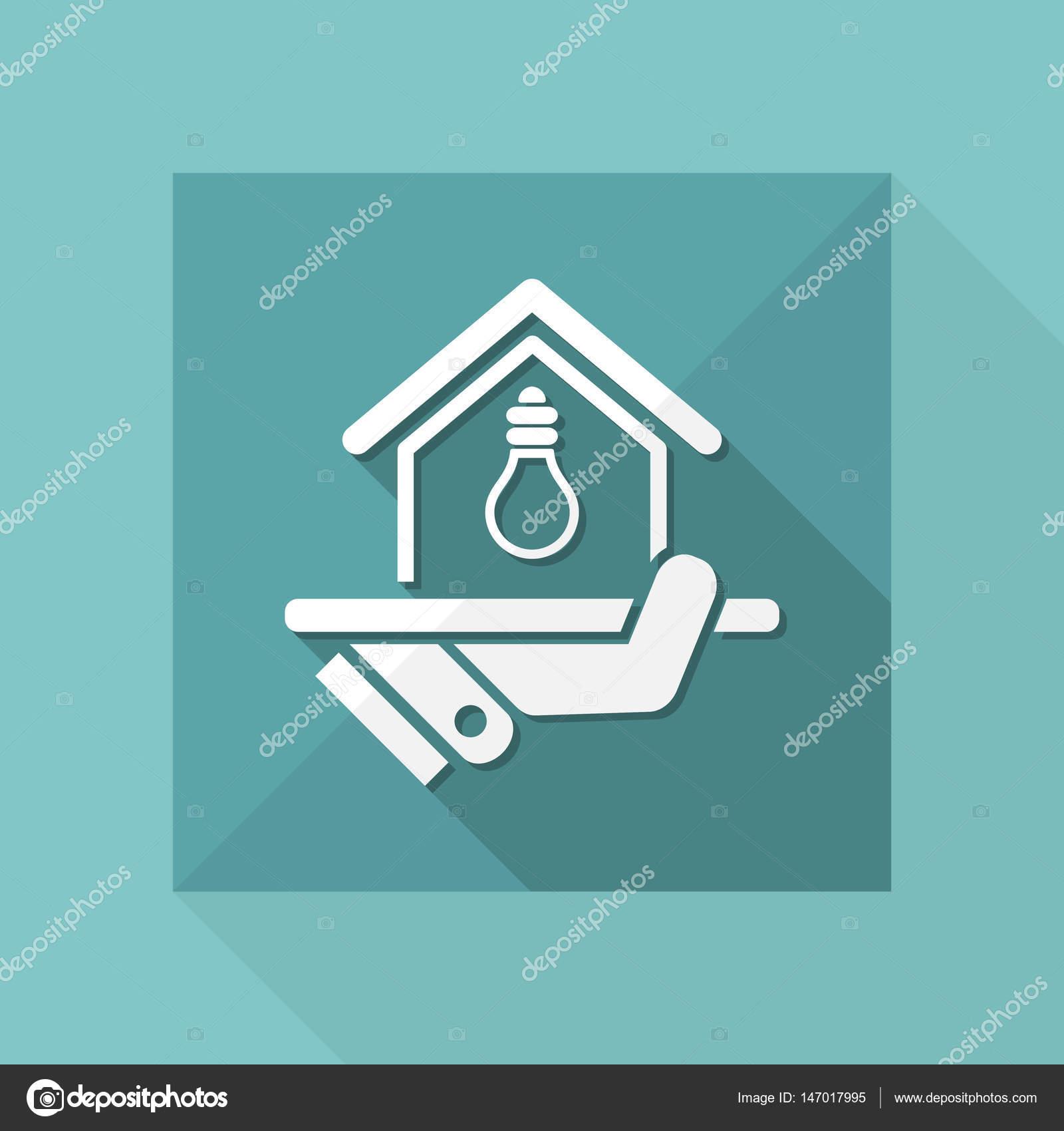 Strom-Versorgung-Symbol — Stockvektor © MyVector #147017995