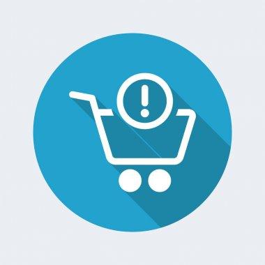 Shopping alert notice icon