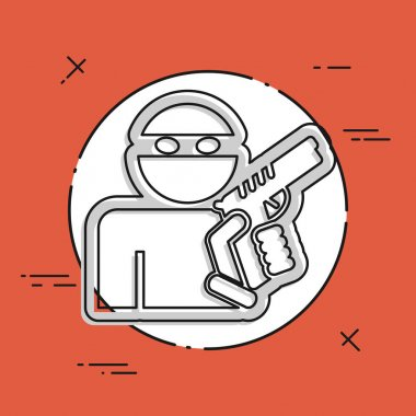 Thief armed icon