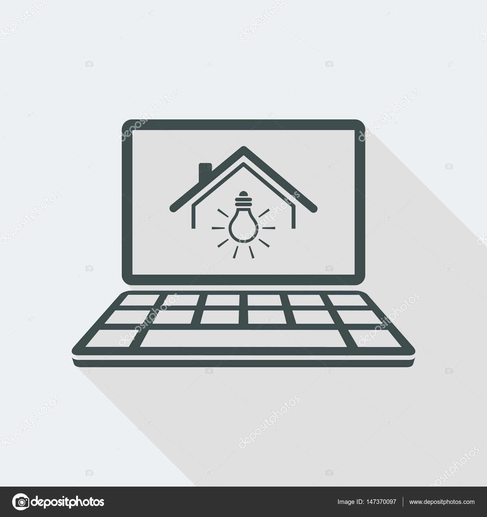 Stromversorgung - Vektor Icon für Computer Website oder Anwendung ...