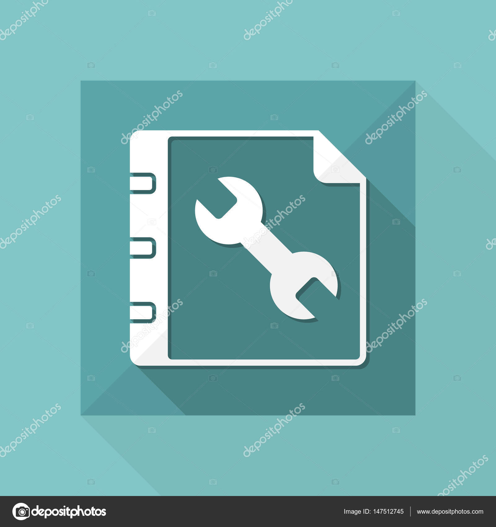 Guide book icon images galleries with for Vector canape user manual