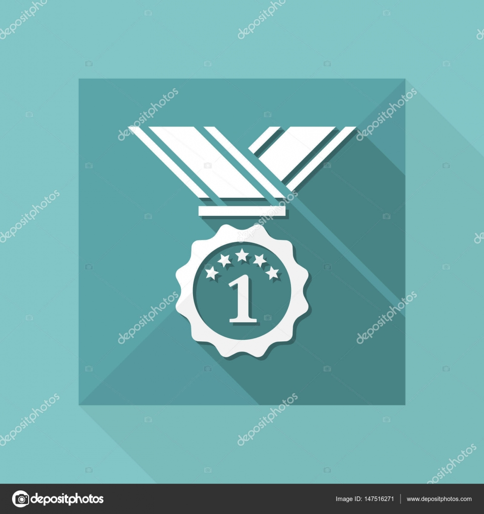 First place medal — Stock Vector © MyVector #147516271