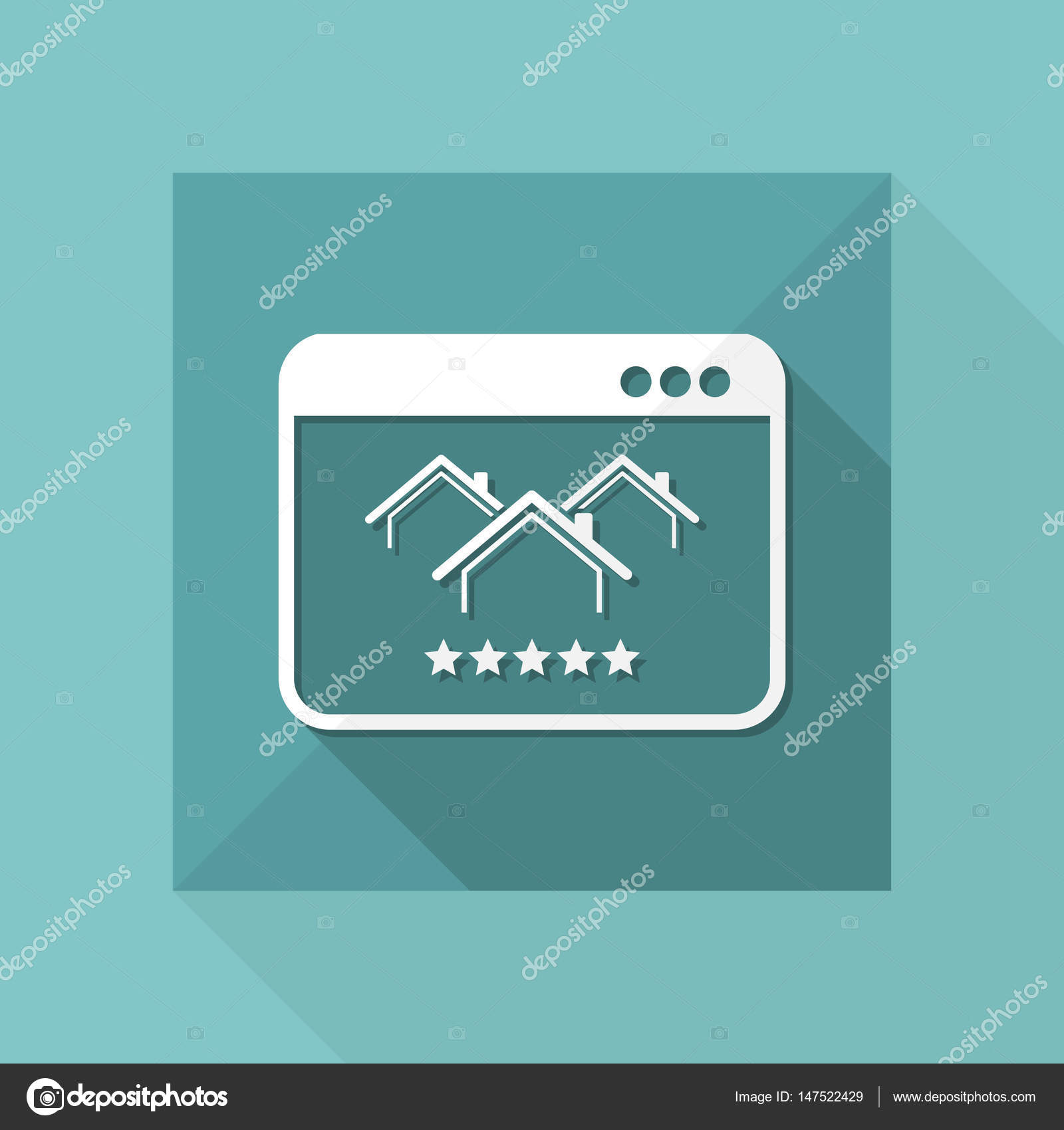 Best luxury home rating icon — Stock Vector © MyVector #147522429