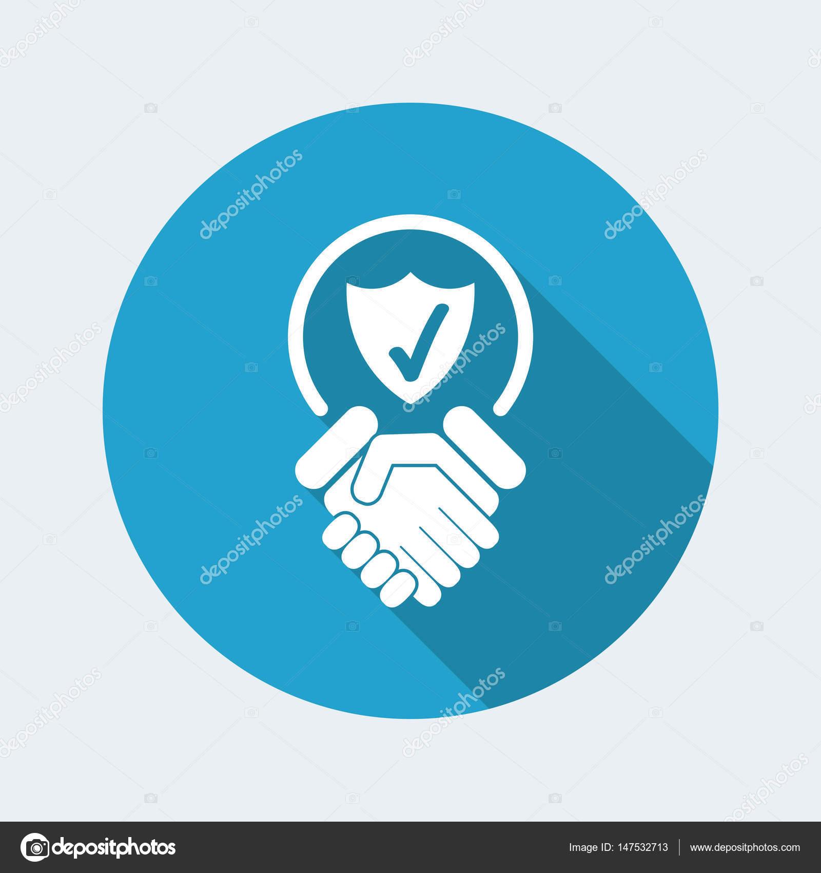 Vertrauen für Schutzsymbol - Vektorgrafik: lizenzfreie