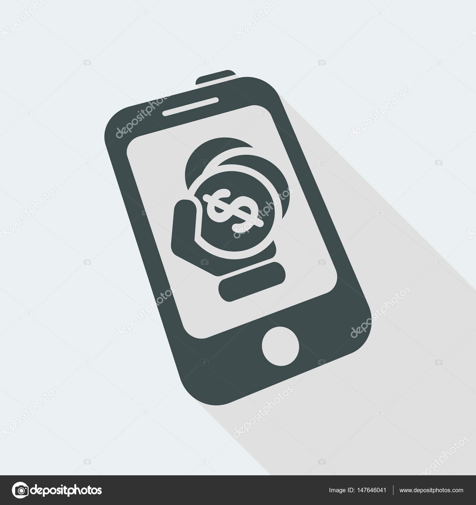 Phone Tariff Plan Icon Stock Vector C MyVector 147646041