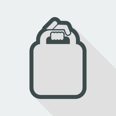 shopping simple icon