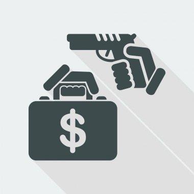 Case robbery icon