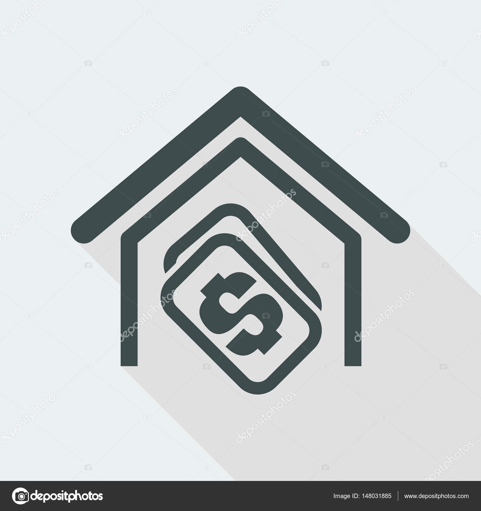 design av pengar ikonen stock vektor myvector 148031885. Black Bedroom Furniture Sets. Home Design Ideas