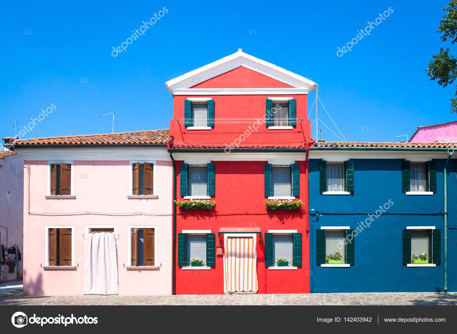 Colores casas en Venecia - Italia — Foto de stock © perseomedusa ...