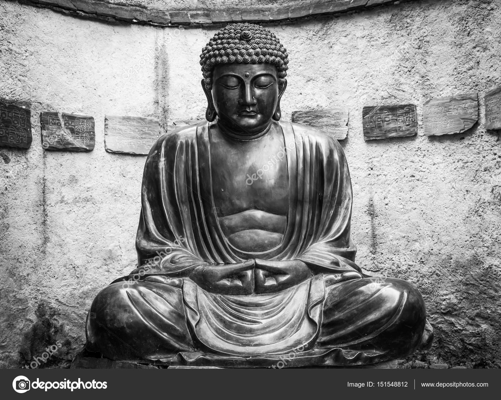 Estatua de Buda japons meditacin Foto de stock perseomedusa