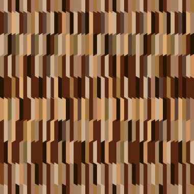 Vertical stripped seamless background in shades of brown