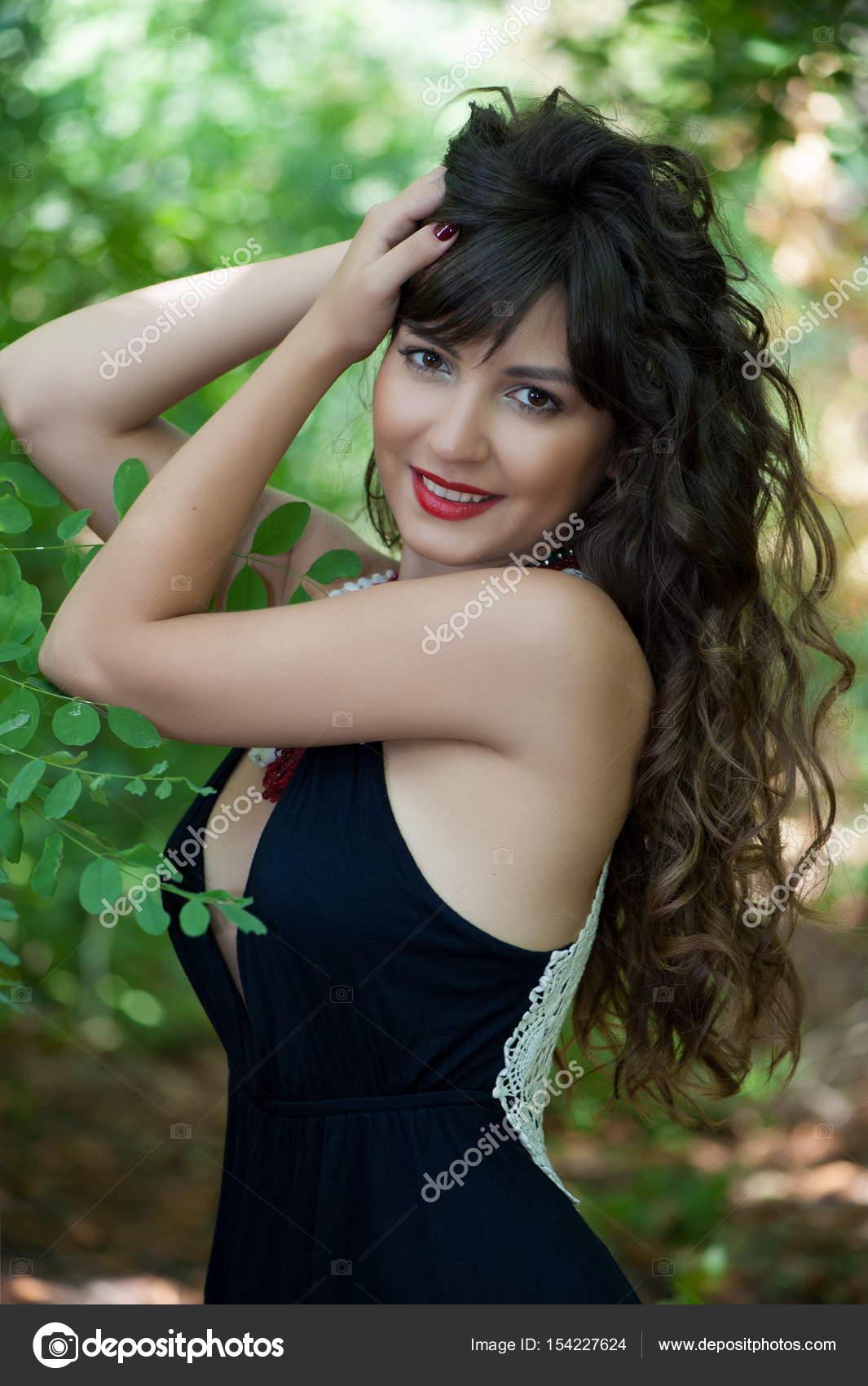 Beautiful Sexy Brunette Girl Stock Photo Yablonski75 154227624