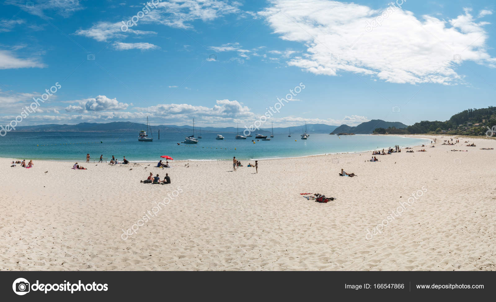 playa de rodas cies islands spain