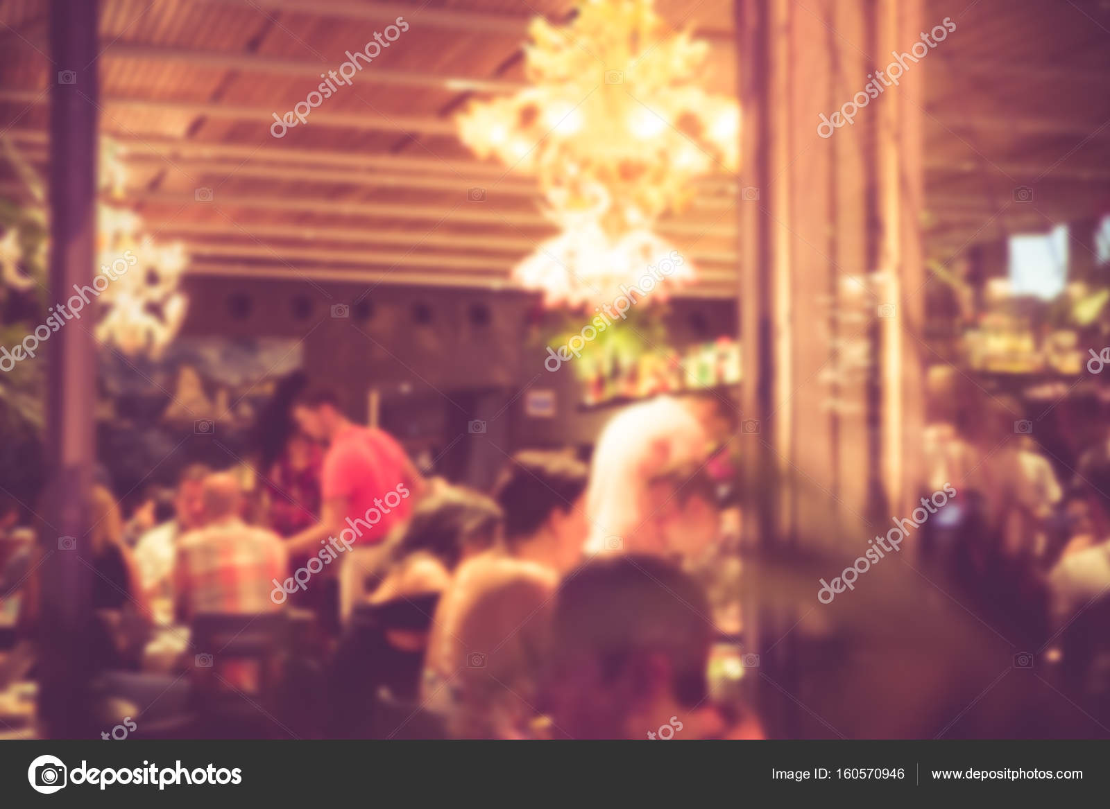 busy restaurant interior. Exellent Interior Blurry Restaurant Interior U2014 Stock Photo On Busy K