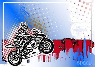 moto GP poster background